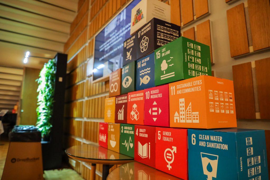 SDG cubes